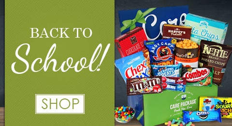 Back to School Care Packages
