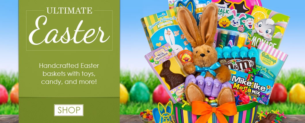 Gift baskets by gourmetgiftbaskets ultimate easter gift basket negle Choice Image
