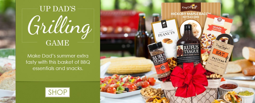 Father's Day Grilling Gift Baskets
