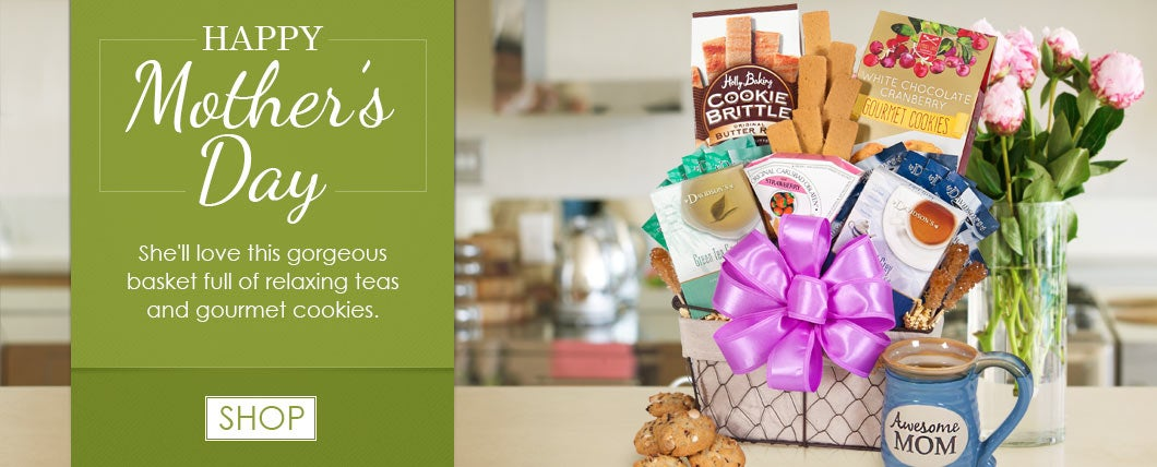Happy Mother's Day Gift Basket