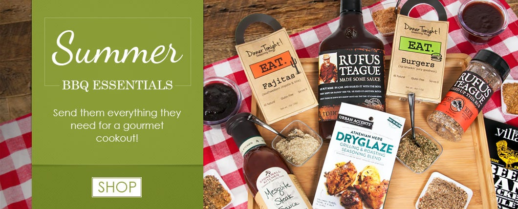 Summer Grilling and BBQ Gift Baskets